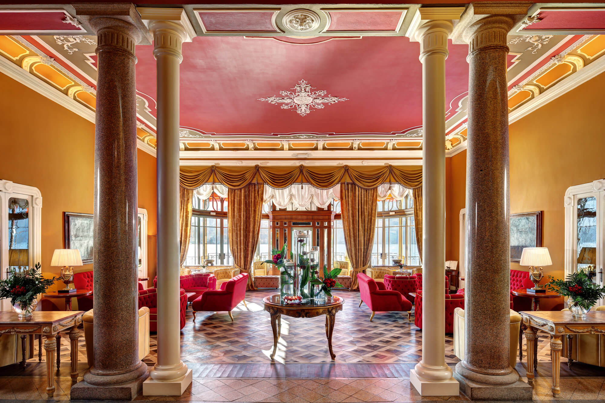 The magnificent lobby