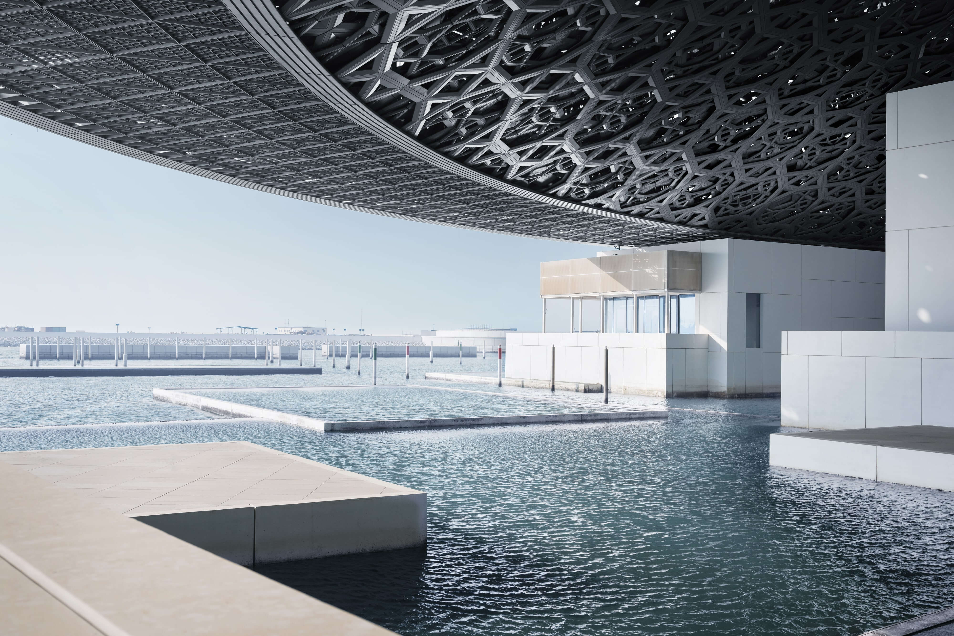 Spaces & view - Photography by Mohamed Somji © Louvre Abu Dhabi