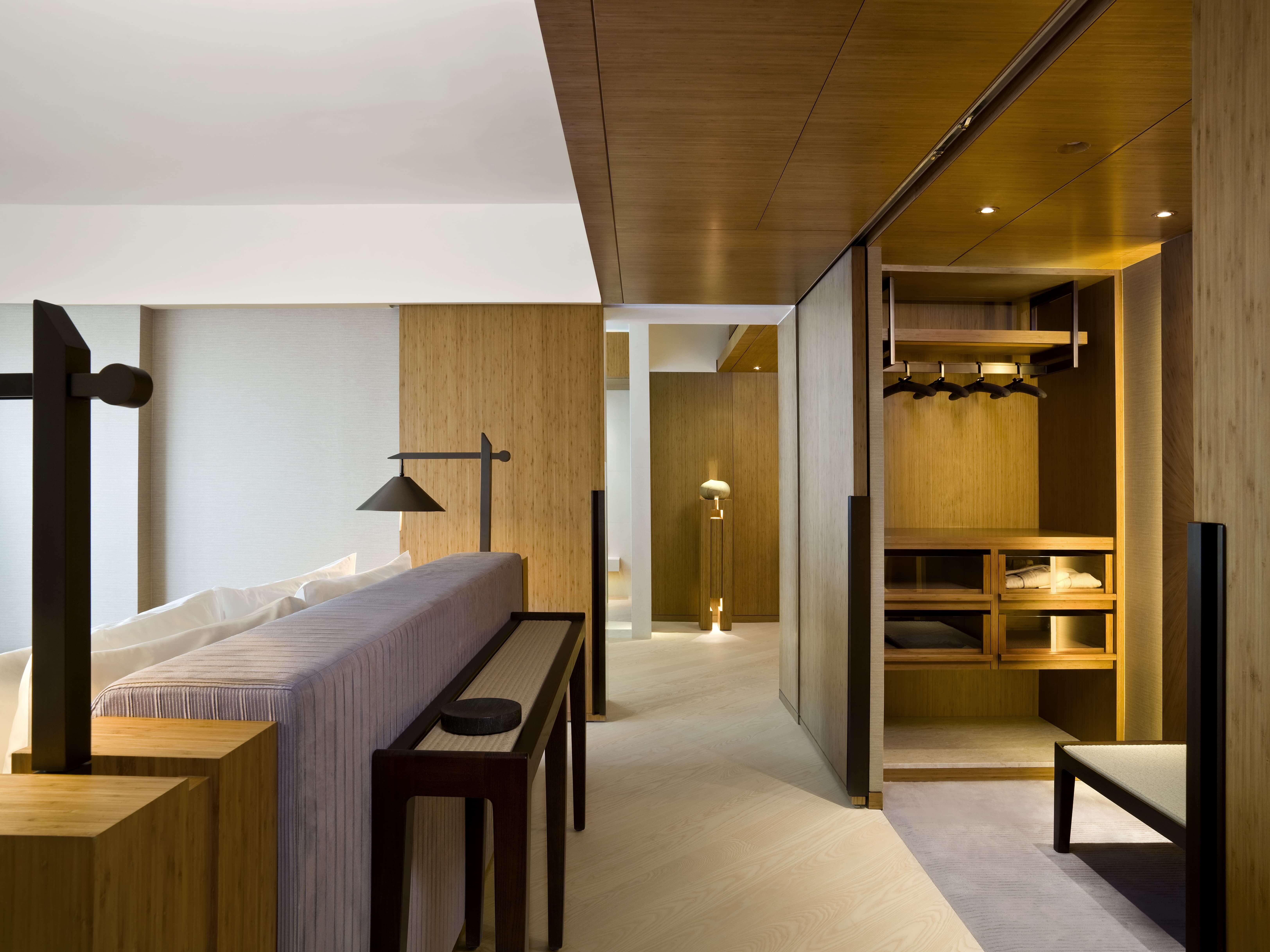 Penthouse Changing Area